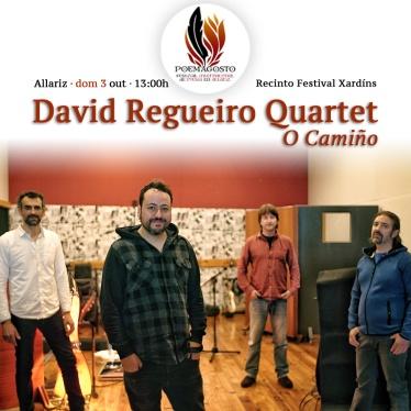 David Regueiro Quartet O Camiño - Poemagosto